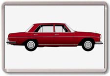 FRIDGE MAGNET -MERCEDES W109 - - GRAPHIC CAR ART - Large