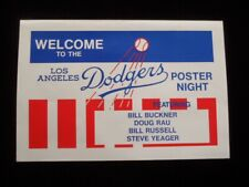 >orig. 1975 Los Angeles Dodgers **POSTER NIGHT** Baseball Poster BILL BUCKNER++