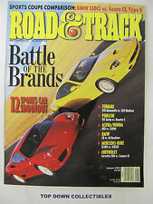 Road and Track Magazine  January 2001   Battle Of The Brands