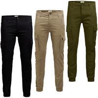 Jack & Jones Intelligence Cargo Pants Lightweight On-Trend Trousers Mens JJIPaul