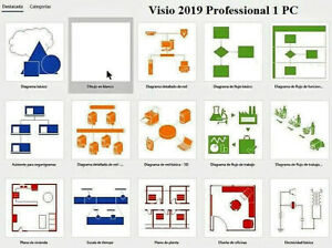 How to active Visio Professional 2019 1 PC Licencia English Totalmente nuevo