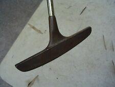 """Classic Black Widow Brass Center Shaft Blade Putter Golf Club Rh 34.5"""""""