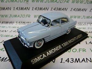 VMP6 voiture 1/43 NOREV atlas voiture de mon père : SIMCA Aronde 1300 Montlhéry