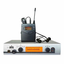 UHF Wireless In Ear Monitors System Stage Monitoring Headphones for Singers