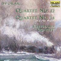 Cleveland Quartet - Antonin Dvorak Quartets Nos 12 and 14 [CD]