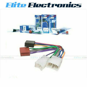 ISO WIRING HARNESS LOOM CONNECTOR FOR TOYOTA CAMRY CELICA COROLLA ECHO HILUX