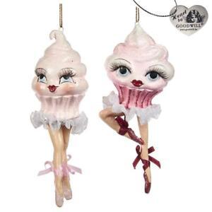 Dansant Goodwill Rose Sahnetörtchen Cupcake Candy Ballerine Avec Tutu 12cm
