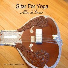 Allen Desomer - Sitar for Yoga [New CD] Duplicated CD