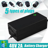 48V Lithium Battery Charger 54.6V Output For Electric Bicycle Motorcycle Scooter