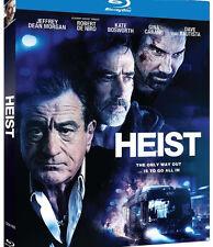 HEIST , Gina Carano, Robert De Niro, Jeffrey Dean Morgan / Region A** Blu-Ray