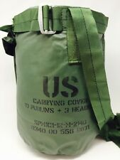 New US Military Tent Sleeping Stake Bag Carrying Storage Case Green Camping