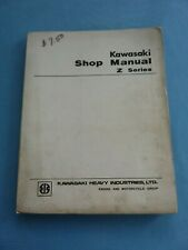 KAWASAKI KZ900 900 Z1 Z SERIES SHOP OWNERS SHOP SERVICE AND REPAIR MANUAL