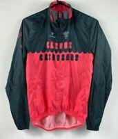 Cuore Women's Cycling Jacket Full Zip Long Sleeve Size Medium Lightweight Pink