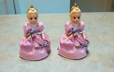 Hallmark Keepsake 2 Cinderella Ornaments Madame Alexander-  1995