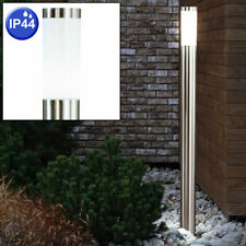 Stehlampe Glasstrahler Terrassenleuchte Grundstück Außenbeleuchtung IP44 1-flg