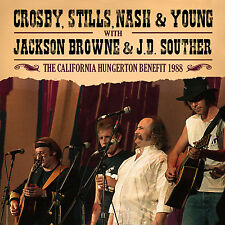 CROSBY, STILLS, NASH & YOUNG New 2018 UNRELEASED 1988 REUNION LIVE CONCERT CD