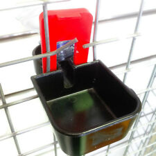 3 PIECE CAGE MOUNTED BOTTLE-HOLDER DRINKER FOR HENS Chickens RABBITS Guinea Pigs