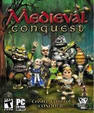MEDIEVAL CONQUEST (PC, 2004) Rare Adventure Video Game !! Cat Daddy Games