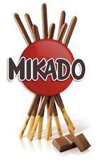 Mikado Milk Chocolate Biscuits 12 Packs x 39gm Long Date.(17 Sticks Per Pack)