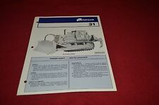 Fiat Allis Chalmers 31 Crawler Tractor Dealer's Brochure DCPA2