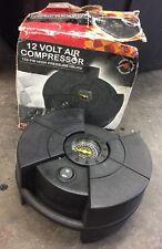 12 Volt Air Compressor 150 Psi High Pressure Gauge Travel carry car mobile B8