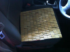 2 Pieces Bamboo Mat Cushion, Use for Chair, Sofa, Car, table cool healthy 竹坐垫