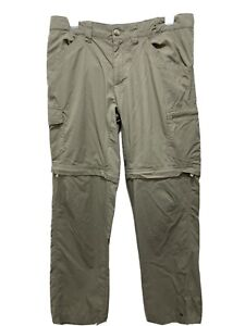 Columbia Men's  Trail Omni-Wick Convertible Pants, 32x32 (tusk)