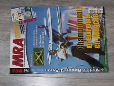 §§µ Revue MRA n°766 Plan encarté Le Sweety helico electrique / Red Star Magnum