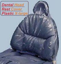 Disposable HeadRest Cover Clear Plastic XL 250/pk P5016XL - For Dental Chair