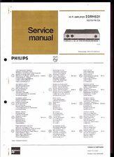 Philips Service Manual für  22 RH 521