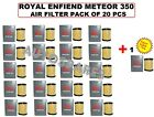 ROYAL ENFIELD METEOR 350 AIR FITLER PACK OF 20 PCS