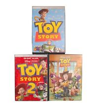 Toy Story 1-3 Dvds (1, 2 & 3)