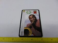 LOUIS ARMSTRONG SEVEN WONDERS PROMO CARD gm368