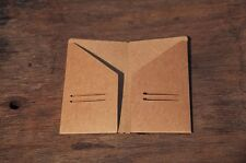 7X4 Medium Kraft Paper Pocket For Traveler's Note Book Journal Diary Refill