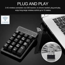 Mini USB Numeric Keypad Number Keyboard Num Pad 19 Keys For Laptop Notebook O5S2