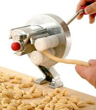 Gnocchetti/Cavatelli Pasta Machine, Gnocchi Maker Ridged Conch Pasta Machine