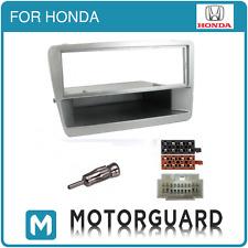 Honda Civic Cd Radio Estéreo Fascia Panel Kit de montaje de sonido envolvente Facia Plata