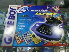 Nintendo Game Boy Advance Indigo Handheld System e-reader Bundle FACTORY SEALED