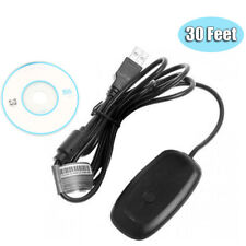 USB Wireless Receiver Game Controller Adapter Windows PC For Microsoft Xbox 360