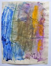 """ILIU JOSEPH (1914-1999).Composition, aquarelle.""""Abstraction lyrique"""". (1960-1990"""