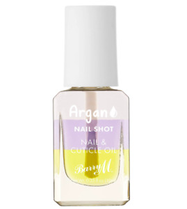 Barry M Nail And Cuticle Oil Argan Hydrate And Nourish Varnish Lacquer Polish