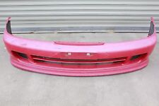JDM 94-01 ACURA INTEGRA TYPE R SIR G DC2 DB8 OEM FRONT BUMPER WITH LIP RED