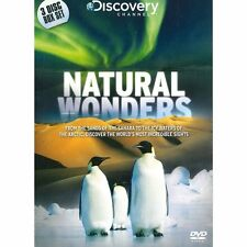 Discovery Channel Natural Wonders 3 DVD SET REGION 2 BRAND NEW