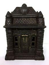 Cast Iron Four Tower Building Bank - J&E Stevens - 1895 Patent Date