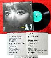 25cm LP Juliette Greco No. 7 w/ André Popp Orchestre (Philips B 76 515 R) F