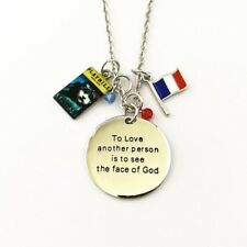 Les Miserable Charm Necklace Broadway