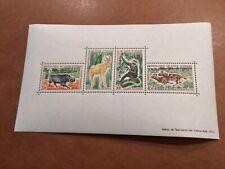 Ivory Coast: Scott#210a Native Animals MNH Souvenir Sheet GOOD SHEET