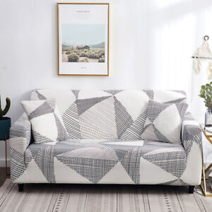 1/2/3/4 Seater Sofa Cover Stretch for Living Room Elastic Sofa Protector Covers
