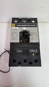 Square D KAL362006139 Thermal-Magnetic Circuit Breaker 200A