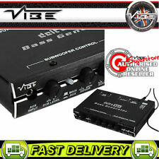 Vibe Audio Delta Caja 12 V Coche Sistema de Sonido iPod iPhone MP3 Aux in generador de graves